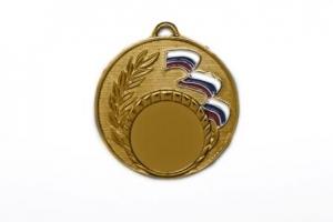 Медаль с триколором с эмалью М-50-04-Э