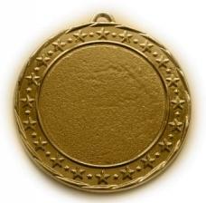 Универсальная медаль Россия с центральной вставкой по индивидуальному заказу
