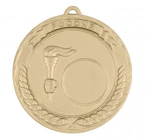 Универсальная медаль Россия с факелом УМ-70-01-4