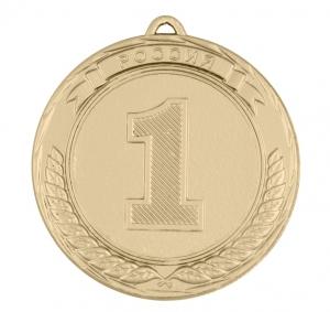 Универсальная медаль Россия с местами УМ-70-01-1 №1,№2,№3 Диаметр - 70мм