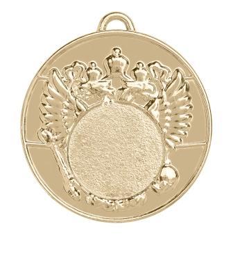 Медаль А-50-03 с гербом (без эмали) Диаметр - 50 мм