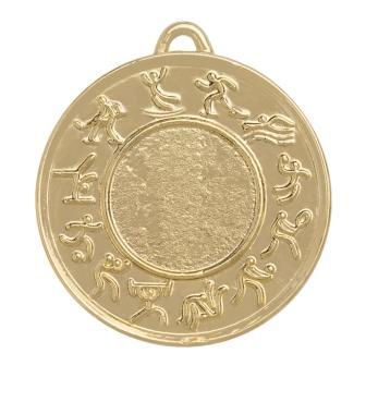 Медаль многоборье М-50-08 Диаметр - 50 мм