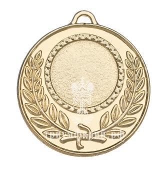 Классическая медаль с лавровым венком М-50-02 Диаметр - 50 мм