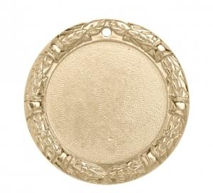 Медаль с объемным лавровым венком М-70-01, d-70мм s-6мм