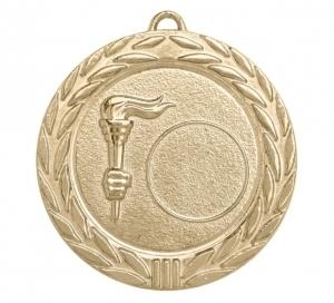 Универсальная медаль Россия с факелом УМ-70-01-4 Диаметр - 70 мм