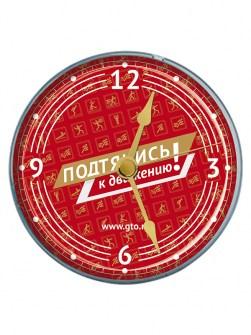 Часы-магнит с символикой ГТО