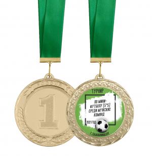 Медаль -  Мини футбол (5*5) 70мм